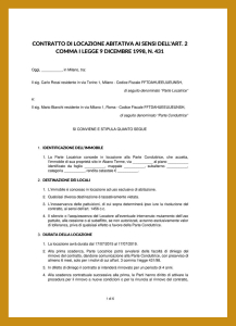 Contratto di Locazione: Cos'è e quali tipologie esistono?